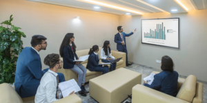 How business analytics can help budding managers navigate their way through the new normal