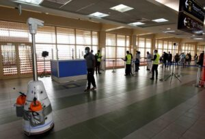 Airport robots give hi-tech boost to Kenya's COVID-19 fight- Technology News, FP