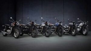 Triumph Bonneville range updated for 2021, includes limited-run Street Twin 'Gold Line'- Technology News, FP