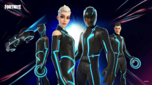 Fortnite introduces new Tron-themed skins and Light Cycles glider and more- Technology News, FP