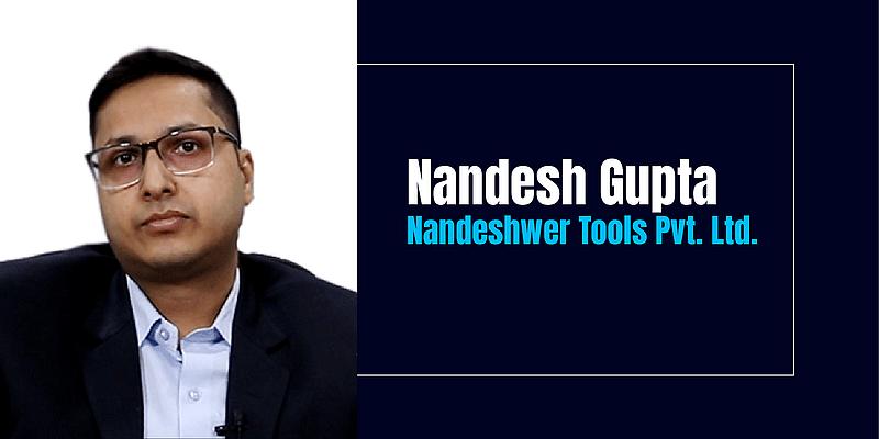 Since childhood, Nandesh Gupta had his mind set on becoming an entrepreneur