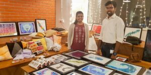 This Hyderabad-based startup is promoting art by making pocket-friendly alcohol inks