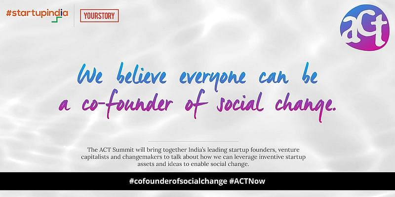 Be a co-founder of social change with ACT