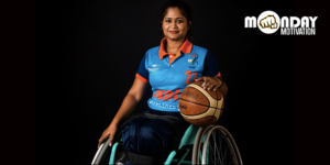 Being wheelchair-bound did not deter this para-athlete from pursuing her dreams