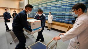 Japan begins COVID-19 vaccination drive amid concerns about shortfall, delayed Tokyo Olympics