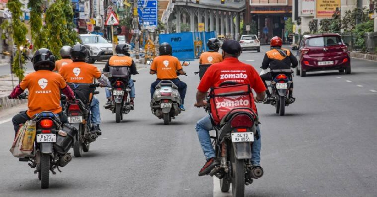 Swiggy Earned Nearly INR 300 Cr More Than Zomato In FY20
