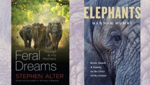 Two new books, by Stephen Alter and Hannah Mumby, shed new light on humans' relationships with elephants