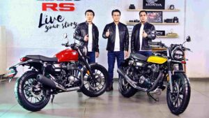 Honda CB350 RS launched in India at Rs 1.96 lakh; deliveries to commence in March- Technology News, FP