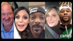 Celebrity video request site Cameo reaches unicorn status with $100M raise – TechCrunch