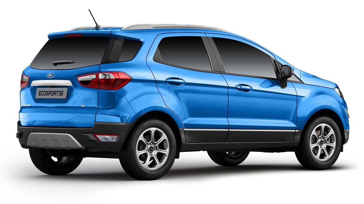 Ford EcoSport SE drops tailgate-mounted spare wheel, priced from Rs 10.49 lakh- Technology News, FP