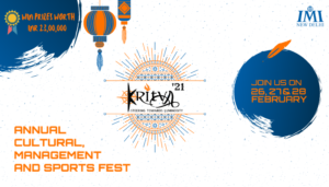 Kritva – The Annual Management, Cultural and Sports Fest of International Management Institute, New Delhi