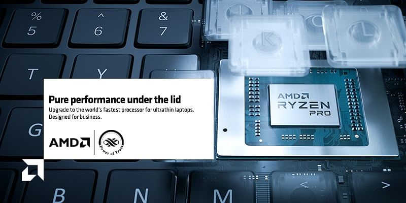Here's why AMD Ryzen™ PRO 4000 series is the new standard for modern business notebooks