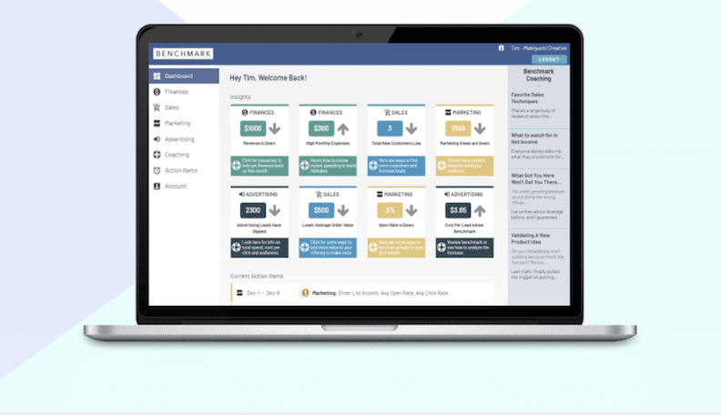 Benchmark App Gives You Insights And Clarity From Your Business Data