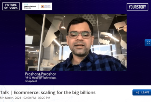 Snapdeal's Prashant Parashar on what startups must keep in mind when building tech for scale