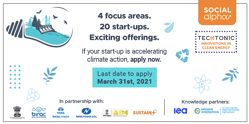 An opportunity for cleantech start-ups to innovate for a greener future.