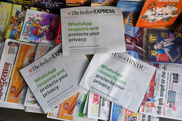 India tells court to block WhatsApp's policy update, says new change violates laws – TC
