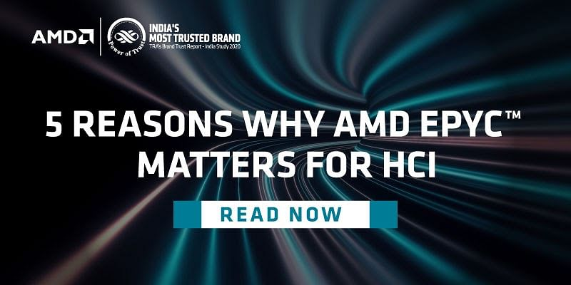 5 reasons why AMD EPYC™ CPUs matter for Hyperconverged Infrastructure (HCI)