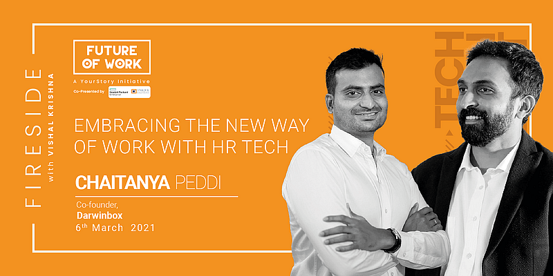 """""""AI will not replace HR,"""" says Darwinbox's Chaitanya Peddi, on the role of HR tech in the new"""