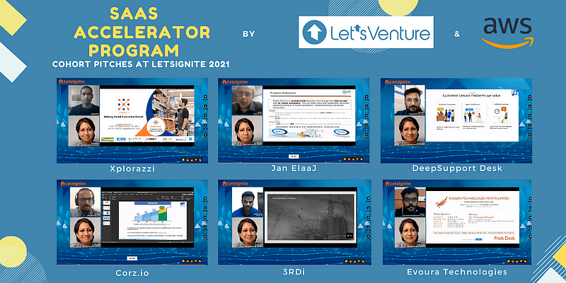 LetsVenture AWS Accelerator Program sees startups pitching to 100+ angels and VCs at LetsIgnite 2021