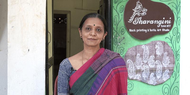 How Tharangini is keeping the handblock printing in fashion