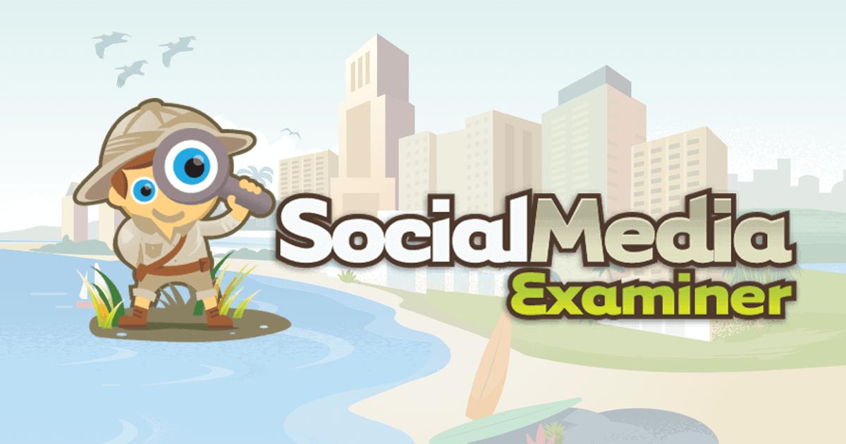Thank you for clicking : Social Media Examiner