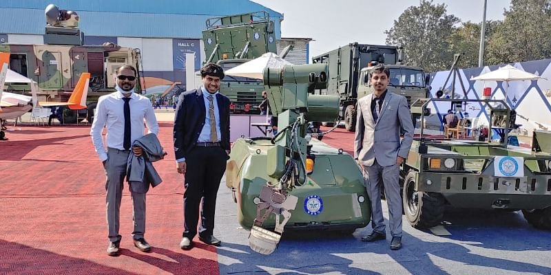 This Chennai-based startup builds unmanned underground vehicles for the Indian Army