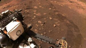 NASA's Perseverance rover hits dusty red road, makes its first 21-feet journey on Mars- Technology News, FP