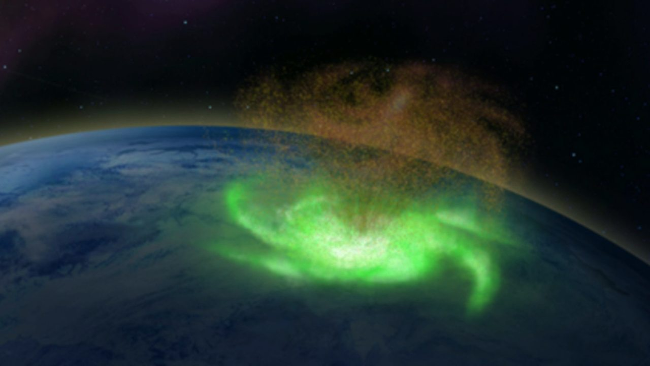 Space hurricane in 2014 'rained electrons' from a plasma cyclone in the upper atmosphere: Study- Technology News, FP