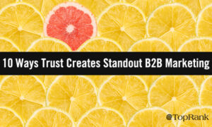 10 Ways Trust Creates Standout B2B Marketing Experiences –