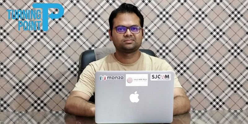[The Turning Point] Why this techie left his job at Mindtree and launched a startup from a small town in Madhy