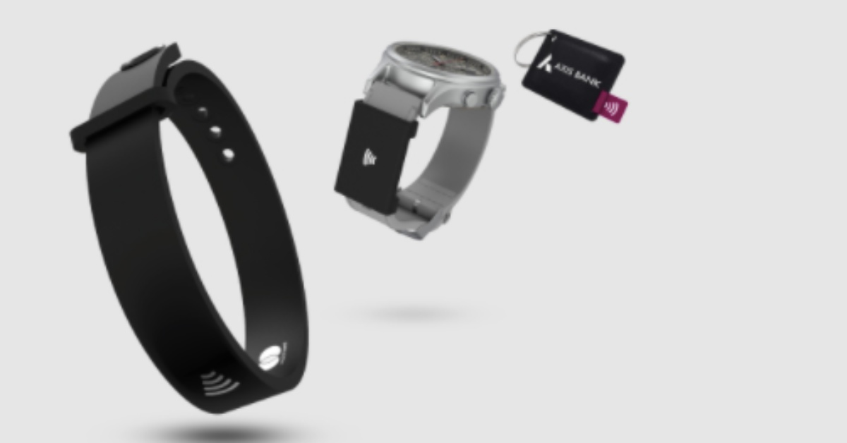 Axis Bank's Wearable Device Shows The Contactless Future Of Payments
