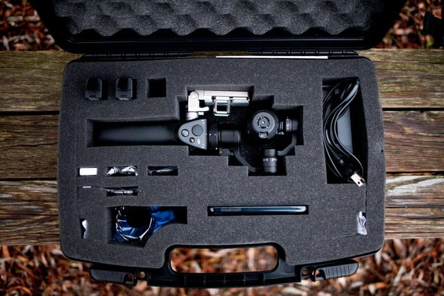 Hard Case for Cameras with Foam- Technology News, FP
