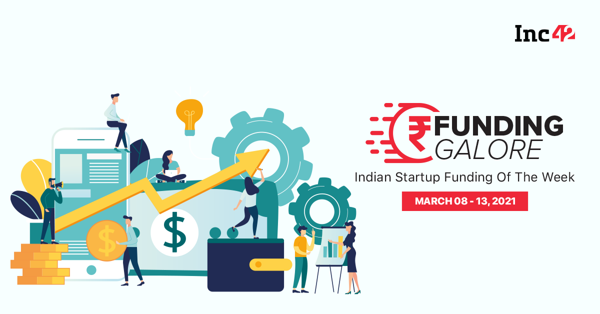 $169 Mn Raised By Indian Startups [March 8-13]
