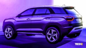 Hyundai Alcazar three-row SUV previewed in design sketches, unveil in April- Technology News, FP