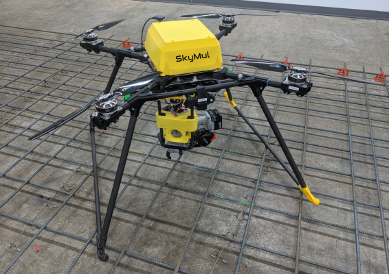 SkyMul's drones secure rebar on the fly to speed up construction – TechCrunch