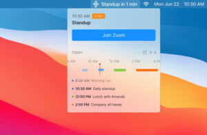 Superpowered lets you see your schedule and join meetings from the Mac menu bar – TechCrunch
