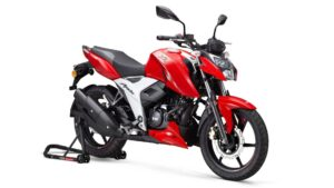 Updated TVS Apache RTR 160 4V launched at Rs 1.07 lakh, is lighter and more powerful- Technology News, FP