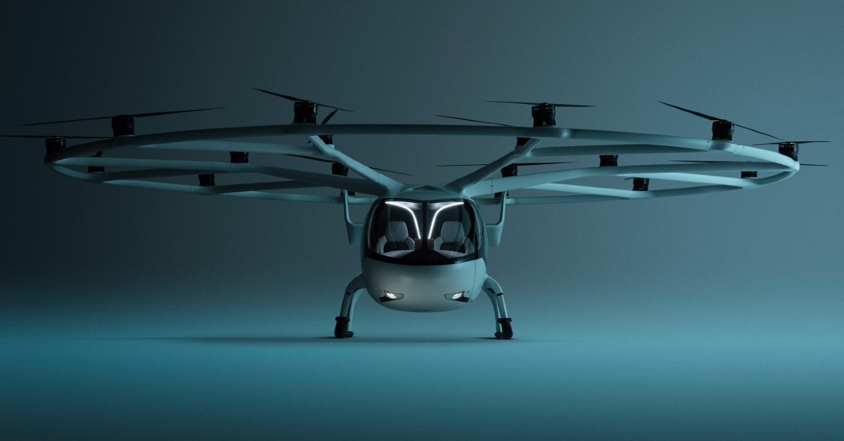 German air-taxi startup Volocopter raises €200M; aims to launch its service in the next two years