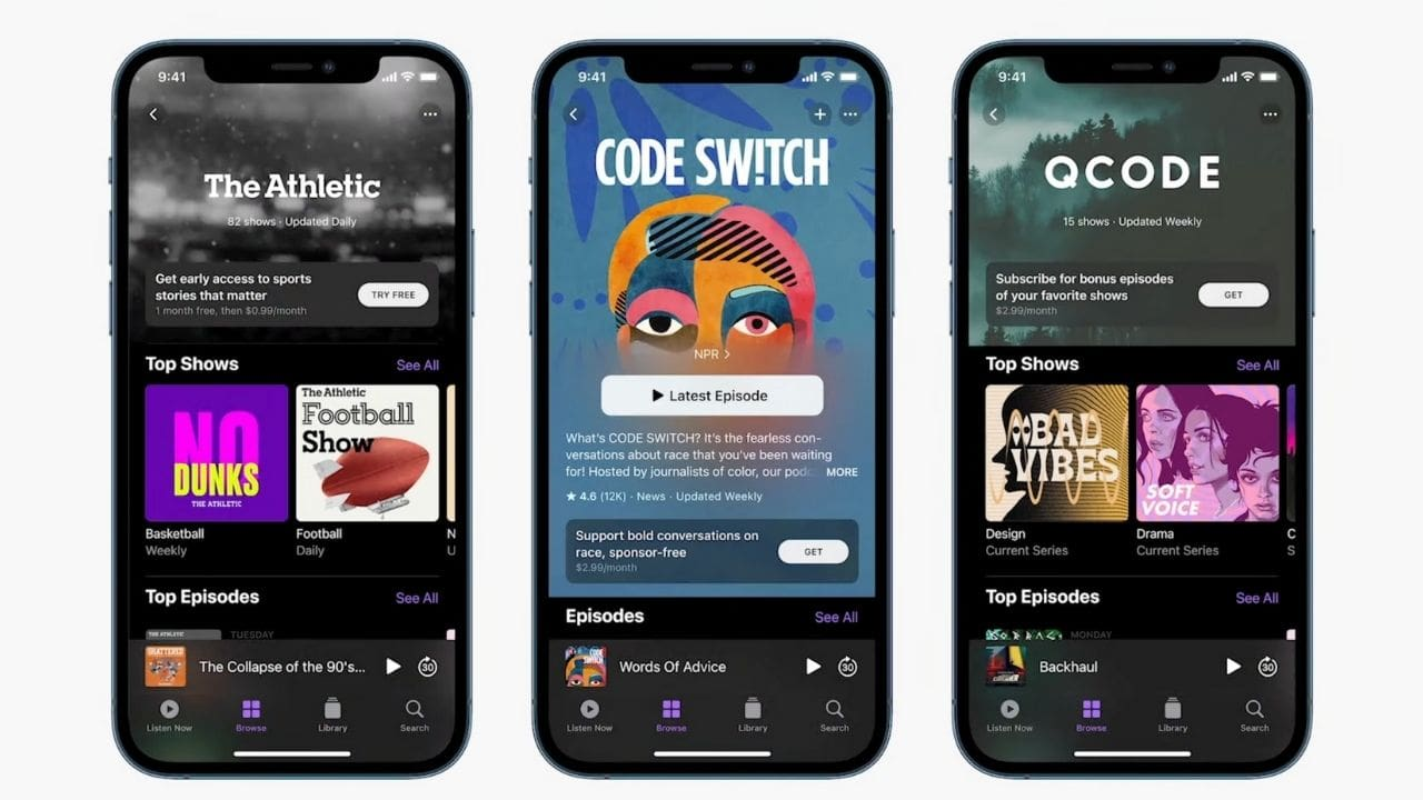 Apple Podcast Subscriptions announced, will be available in over 170 countries in May- Technology News, FP