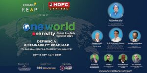 One World One Realty Summit to build the foundation of a sustainable future for the real estate sector