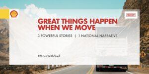 Shell brings us three 'moving' stories of inspiring women