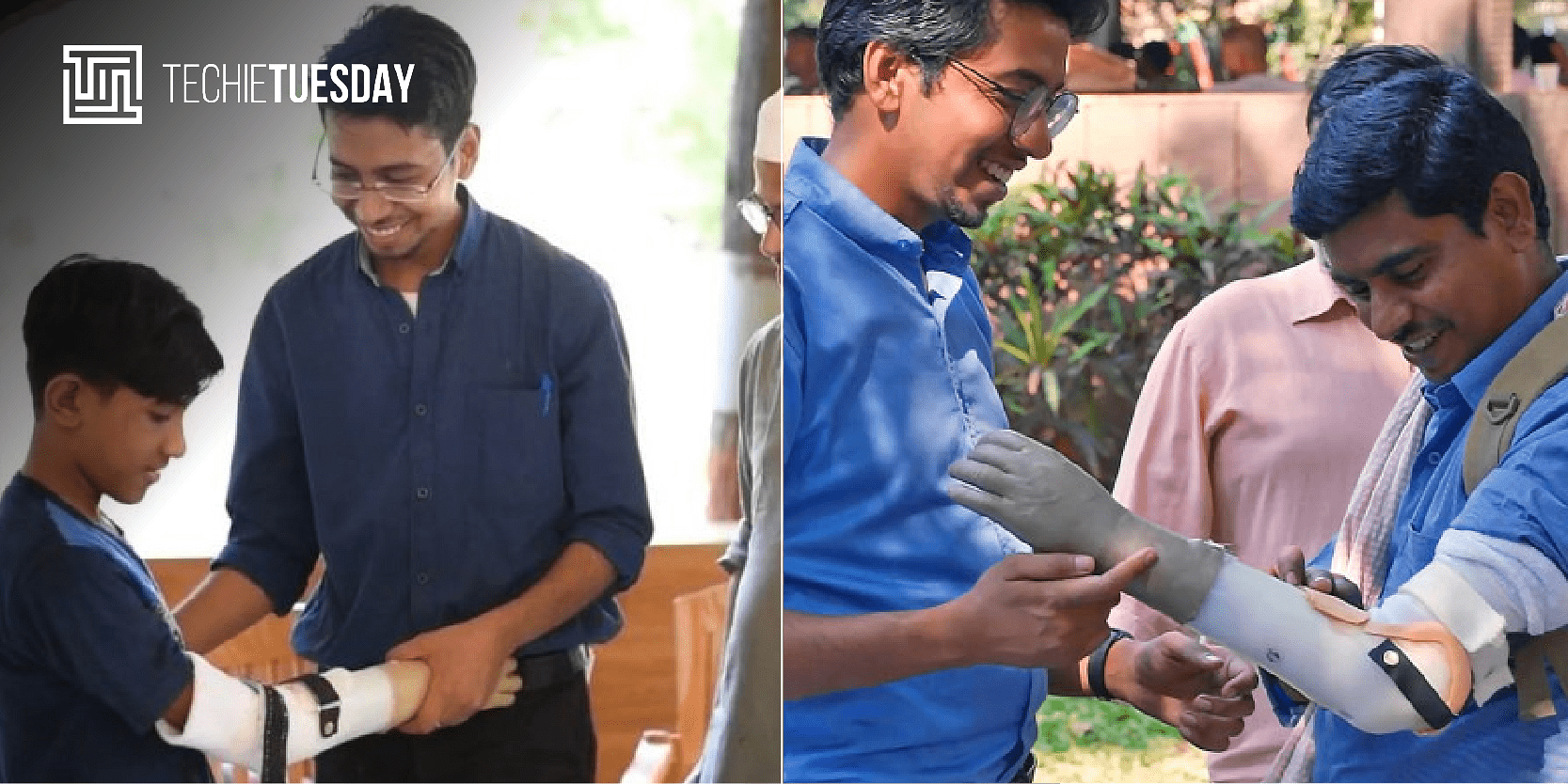 [Techie Tuesday] Meet Prashant Gade, the assistive-tech inventor whose life's purpose is to leave no person wi