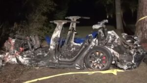 Two killed in fiery Tesla Model S crash, authorities say 'there was no one driving'- Technology News, FP