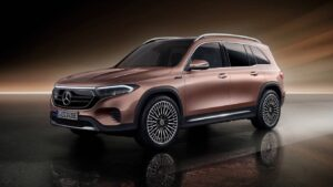 Mercedes-Benz EQB seven-seat electric SUV makes global debut at Auto Shanghai 2021- Technology News, FP