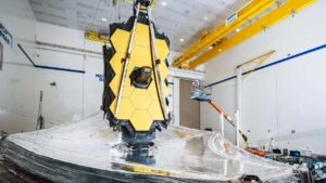 NASA's James Webb telescope unfolds its giant mirror, passes final pre-launch test- Technology News, FP