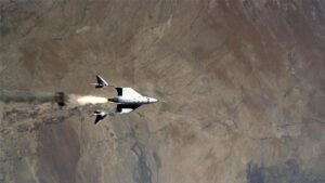 Virgin Galactic reaches edge of Earth's atmosphere for the first time with two pilots- Technology News, FP