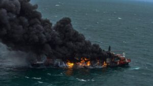 Sri Lanka faces its worst marine crisis as plastic from burning ship washes ashore- Technology News, FP