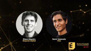 Vise CEO Samir Vasavada and Sequoia's Shaun Maguire break down the art of the pitch – TechCrunch