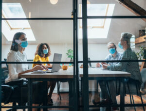 As tech offices begin to reopen, the workplace could look very different – TechCrunch