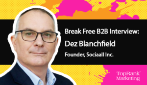 Dez Blanchfield of Sociaall on Joining the Conversation –